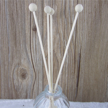 10pcs Thread Rattan Bedroom Eco-friendly Wooden Bead Spare Long Aroma Refill Reed Diffuser Sticks Replacement Thick (no bottle) цены