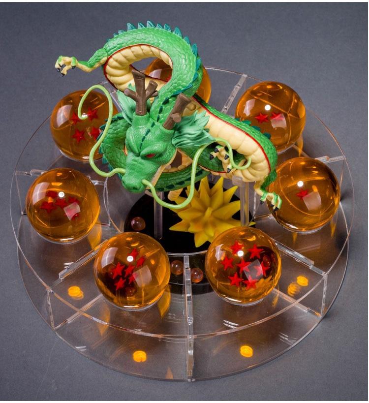 Dragon Ball Toys : Dragon ball z shenlong with balls toys anime crazy store