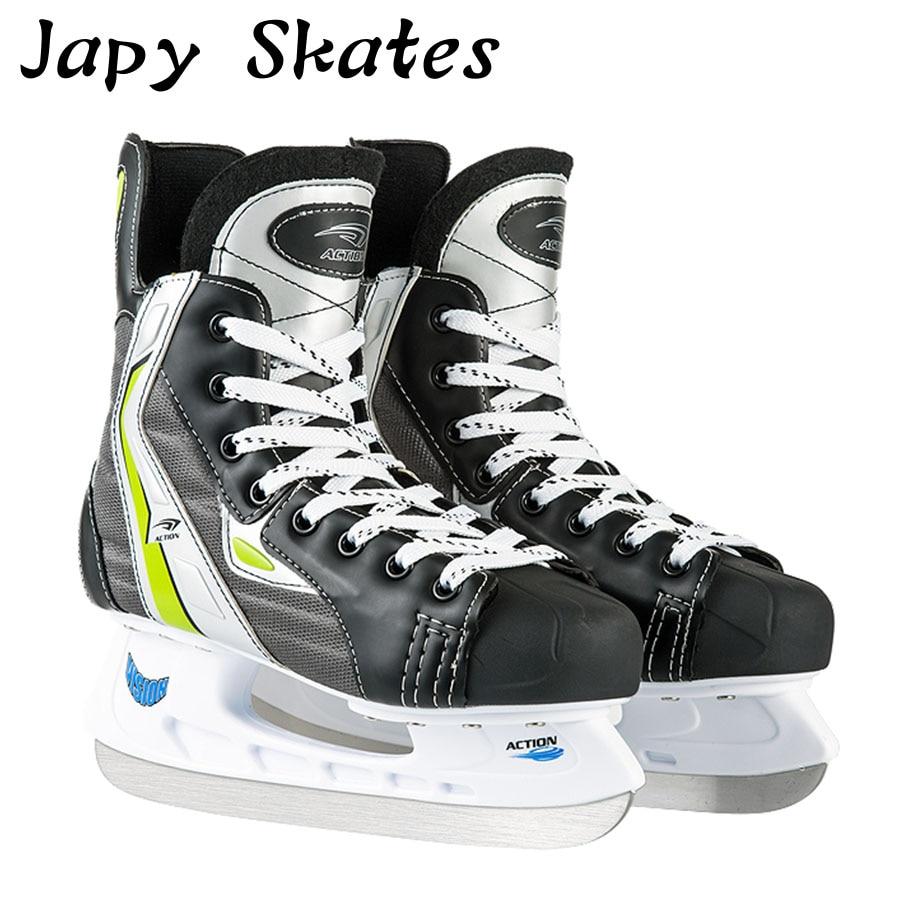 Japy Skate Action Ice Hockey Shoes Adult Child Ice Skates Professional Ball Knife Ice Hockey Knife