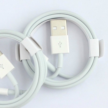 цена на USB Cable for iPhone 6s 6 7 8 Plus X Xs Max 5 5s 5c SE Charger Cables 2.4a Fast Charging Data Cord For Apple Lightning 8pin Wire