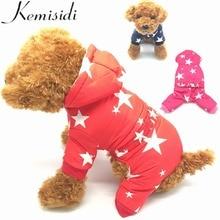 Купить с кэшбэком KEMISIDI Winter Thickening Dog Clothes Warm Small Dog Coat Jacket Funny Pet Dog Costume Winter Pug French Bulldog Teddy Clothes