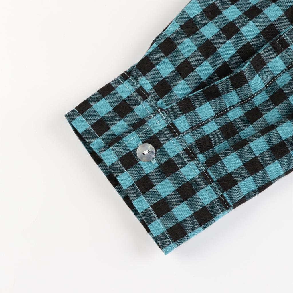 MCO Autumn Basic Plus Size Check Top For Office Ladies Simple Oversized Women Blouse Classic Plaid Shirt Big Size 5xl 6xl 7xl 4