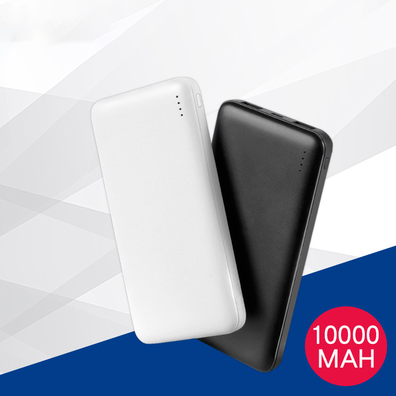 New 10000mAh Power Bank Dual USB Fast Charging Powerbank For Xiaomi mi iPhone Portable External Battery Mobile Charger Poverbank(China)