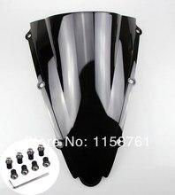 Preto caso do pára-brisa da motocicleta para yamaha yzf1000 r1 2000 2001