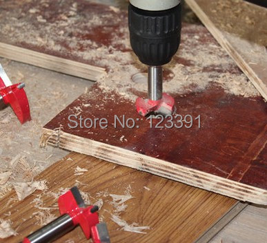 Free shipping 40mm TCT Wood Hinge Boring Hole Saw Drill Bit Cutter Set Auger Carbide Tipped bits for wood plastic hole drilling