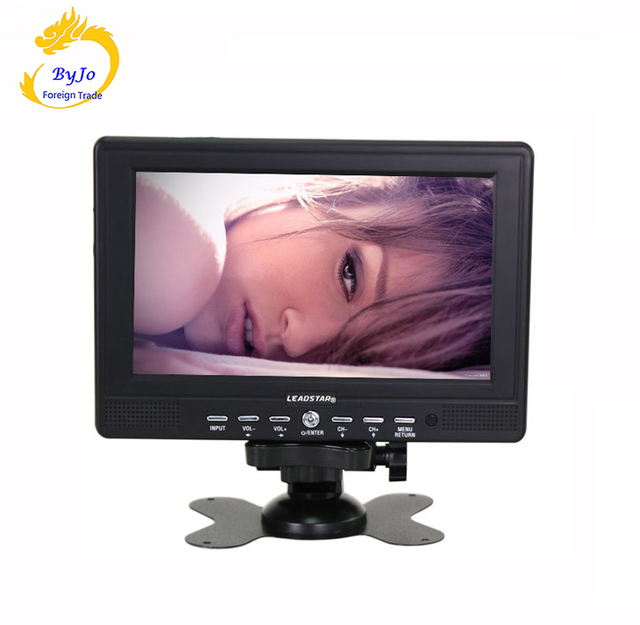 Big Sale LEADSTAR-7 inch HD TV Support SD/USB  Automatic identification of PAL/NTSC/SECAM Portable TV / Monitoring display