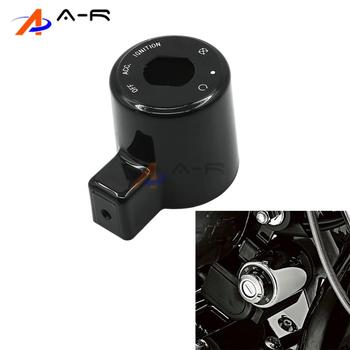 Motorcycle Ignition Switch Cover For Harley Davidson Sportster 48 72 XL1200V 883R XL883R 883L XL883L 1200 Low XL1200L 04-13 Harley-Davidson Sportster
