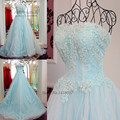 Vestidos de 15 años Princesa Barato Light Blue Vestidos Quinceanera 2017 Doce 16 Vestidos Vestido de Debutante Lace Prom Pageant Vestido