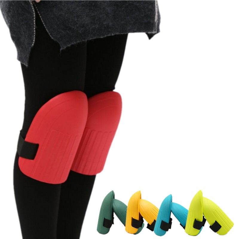 Yoga /& Construction Comfortable Knee Pads for Scrubbing floors Adaptable Straps Gardening Kneeling Stylish and Unique design Color Garnet Multi-use and Light Neoprene Fabric