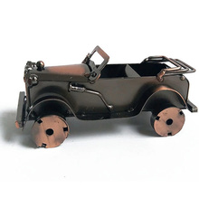Creative Iron Convertible Car Craft Ornaments Convertible Classical Car Figurines Toy Decoration Home Accessories Birthday Gifts graco comfortsport convertible car seat in zara