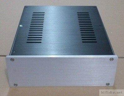 Brisa caso amplificador de Audio 2609 amplificador Completo caja/PSU caja de alu