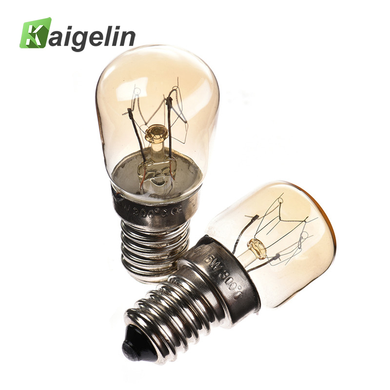 E14 15W/25W Oven Bulb Halogen LED High Temperature 300 Degrees Oven Toaster Steam Light  ...