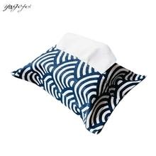 Новинка льняная домашняя тканевая коробка Сумочка для прокладок Простой автомобильный держатель для салфеток чехол для гостиной коробки для салфеток кухонные принадлежности для хранения