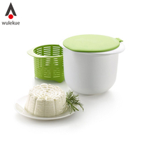 Wulekue 1 Unidades Horno Microondas Fabricante de Queso Con Recetas de Cocina Postre Pastelería Herramienta