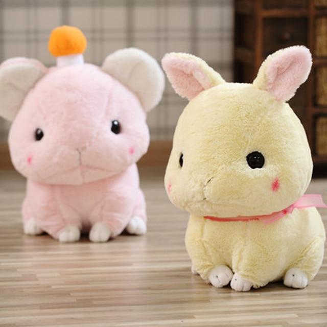 White Bunny Rabbit Plush Toy Kawaii Stuffed Animals For Children