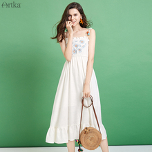 2019 Dresses Women Embroidery