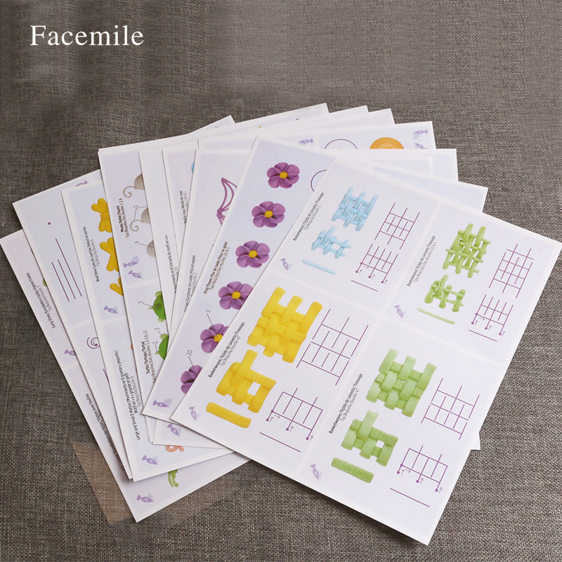 Diy Gift Idea Day Teacher Home Art Decor: Cake Practice Template Board Piping Icing Drawing DIY