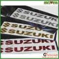 Free shipping 20pcs/lot Motorcycle 3D Stickers logo badge For gsxr Suzuki Decals K7 K6 K9 RM DR hayabusa GSX R750 R600 600 1000
