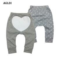 2pcs Lot Casual Toddler Baby Carton Animal Bottoms Pants Infant Boys Girls Cartoon Harem Pants Trousers