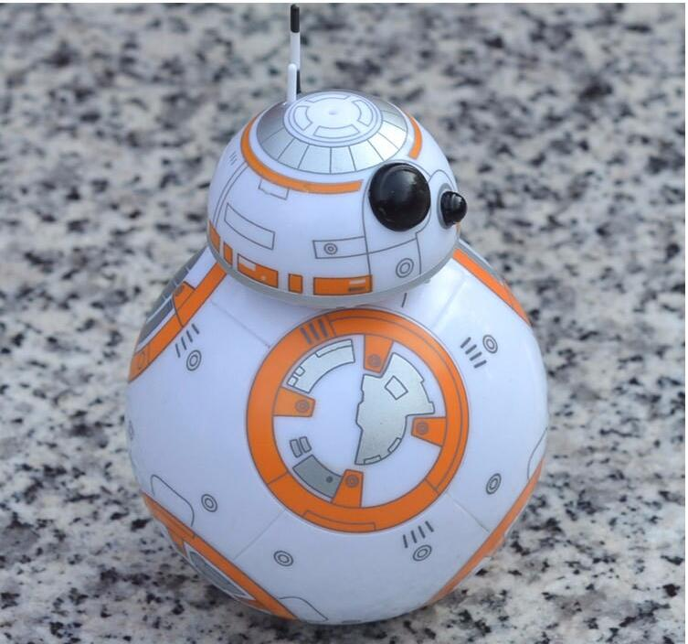 2018 Star Wars 8 The Last Jedi BB8 BB-8 R2D2 Droid Robot tumbler Action Figure Stormtrooper Clone Toy Gifts фигурка planet of the apes action figure classic gorilla soldier 2 pack 18 см