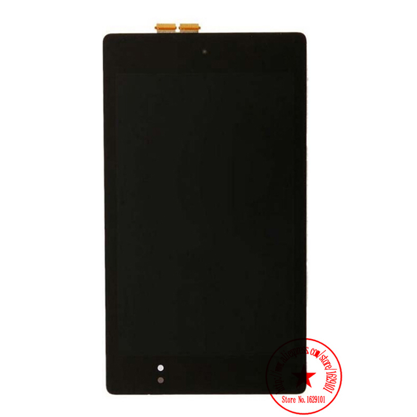 100% Warranty For ASUS 2013 Google Nexus 7 FHD 2nd Gen K009 Full LCD Display Touch Screen Digitizer Assembly Panel Replacement