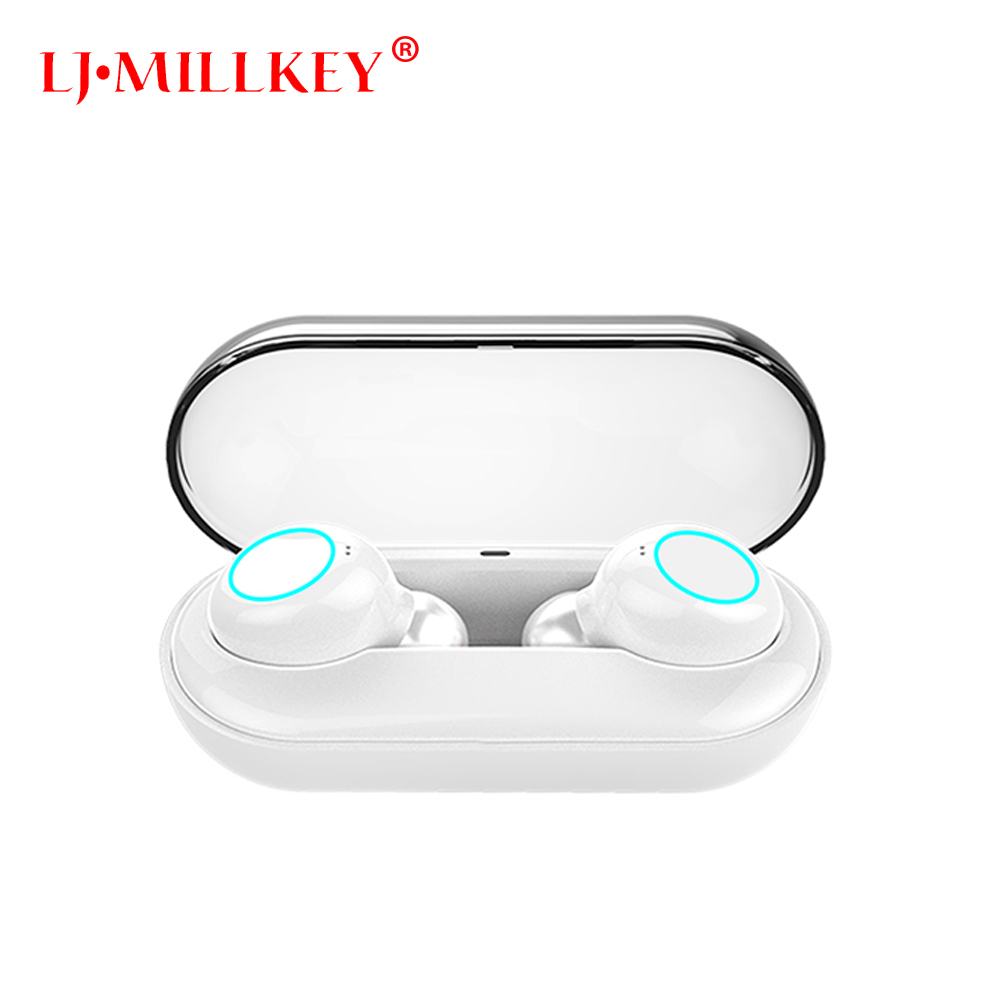V5.0 TWS Bluetooth Earphone Mini True Wireless Stereo Earbuds earpiece Waterproof Headset Headphone for Phone YZ205 zomoea business wireless bluetooth headset stereo headphones earphone earpiece handsfree earbuds headphone for smartphone