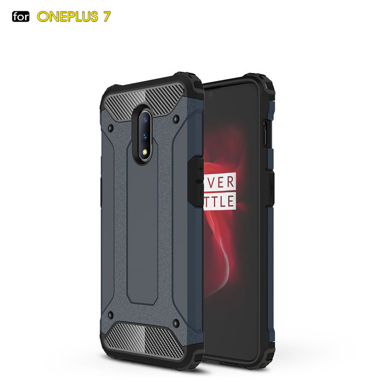 For OnePlus 7 Armor Hybrid Hard Silicone Shockproo