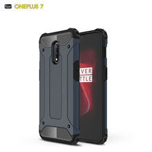 For OnePlus 7 Armor Hybrid Hard Silicone Shockproof Case For