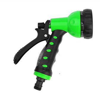 Przenośny samochód pistolet na wodę w sprayu pistolet do mycia samochodu podlewania ogrodu zielony samochodów narzędzie do czyszczenia samochodów narzędzia do mycia tanie i dobre opinie Inżynieria Tworzyw Sztucznych Finger Grip Słupa wody AOZBZ