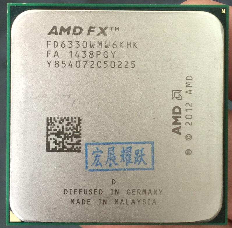 Prix pour Amd fx-série fx-6330-fd6330wmw6khk amd fx 6330 six core am3 + cpu plus fort que fx6300 fx 6300