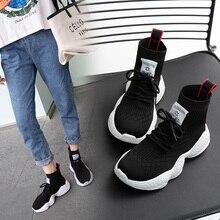 2019 Sock Footwear sport Breathable Mesh Electric Sock Sneakers for women high top ayakkabi erkek tmallfs women tennis shoes crocs classic unisex for male for female man woman tmallfs tmallfs shoes