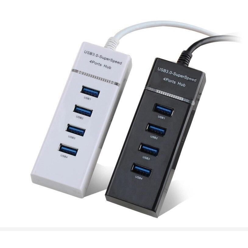 4 Порты и разъёмы USB 2,0 HUB адаптер Светодиодный Свет USB разветвитель для MacBook pro/Air ПК ноутбук аксессуары несколько USB2.0 HUB адаптер