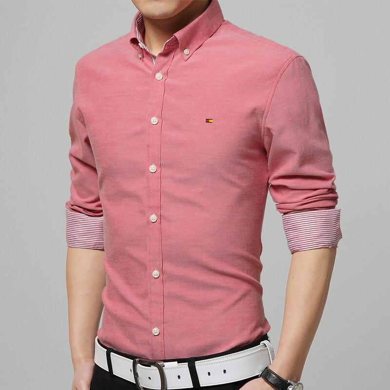 High quality 2016 new men shirt fashion solid casual shirt for High quality mens shirts