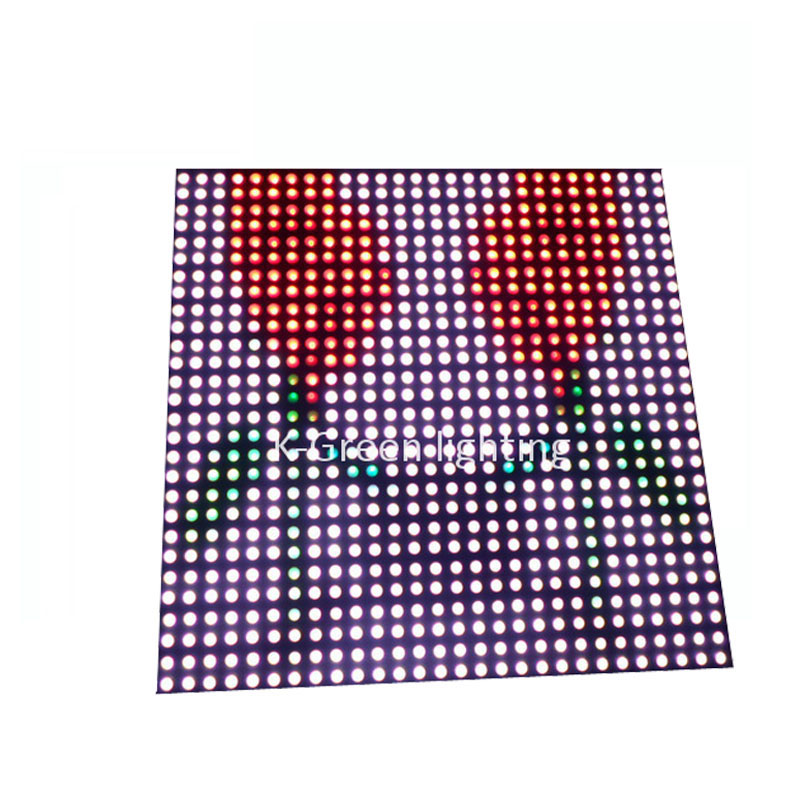 цена на 5X Wholesale P10 fiber board plate APA102 RGB full color 784 pixels matrix LED screen express free shipping