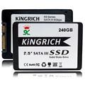"""Новый Kingrich 2.5 """"Флеш-ПАМЯТЬ ТИПА SLC SSD 256 ГБ SATA3 Твердотельный Накопитель с lnternal SSD Жесткий Диск 64 ГБ 128 ГБ 3 лет гарантия"""