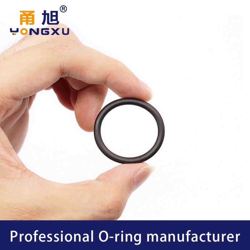 X100 Fluorine Rubber FKM O Rings O Sealing Ring CS:1.8mm ID:4.5-6.7mm