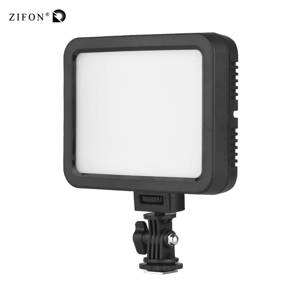 ZIFON ZF C139 Color LED Video Light White RGB Photography Lighting Dimmable Fill Light 360 Colors
