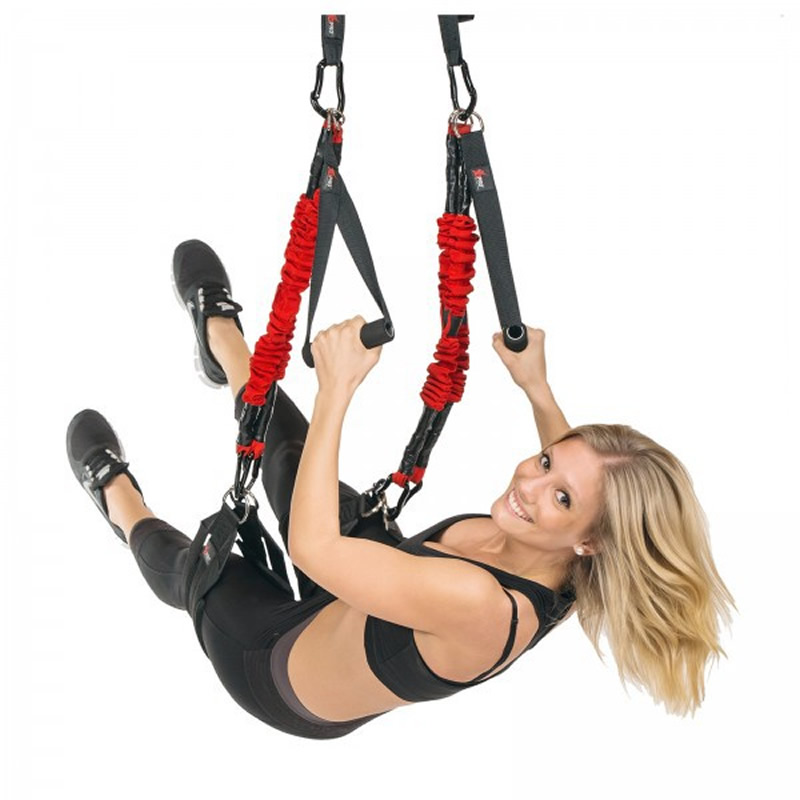 Nouveau 4D PRO Suspension Élastique Sling Pratique Pull Corde Bungee Entraînement Accrocher Cordon de Formation Pilates Yoga Bandes de Résistance