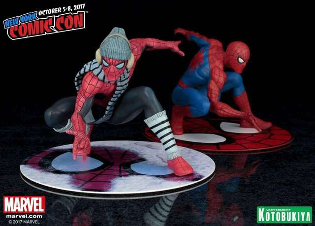 Marvel The Amazing SpiderMan com Lenço ARTFX + ESTÁTUA 1/10 Scale Pré-Pintado Kit Modelo PVC Figura Modelo Brinquedos