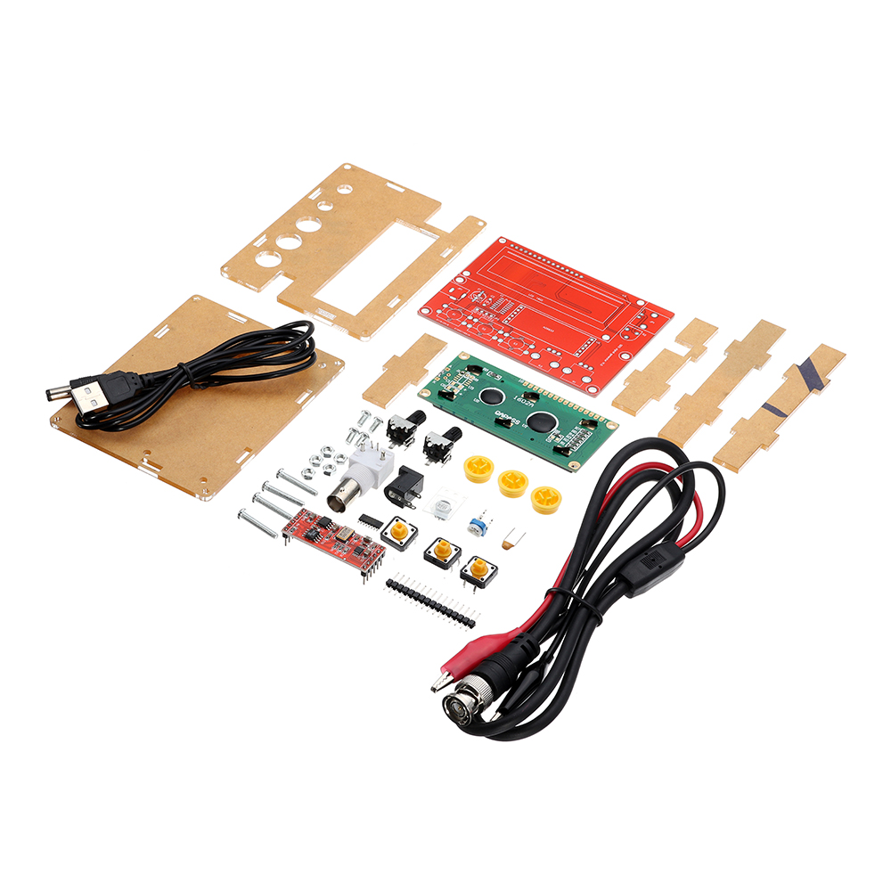 High Precision Multifunction DIY Kit 5V Triangular Sine Square Wave AD9833 LCD1602 Signal GeneratorHigh Precision Multifunction DIY Kit 5V Triangular Sine Square Wave AD9833 LCD1602 Signal Generator