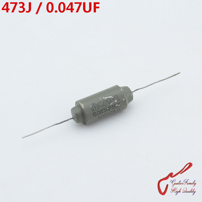 1 Piece GuitarFamily 473J  0.047UF 400V Tone Oil Capacitor  ( Paper In Oil Capacitor  ) For Electric Guitar Bass