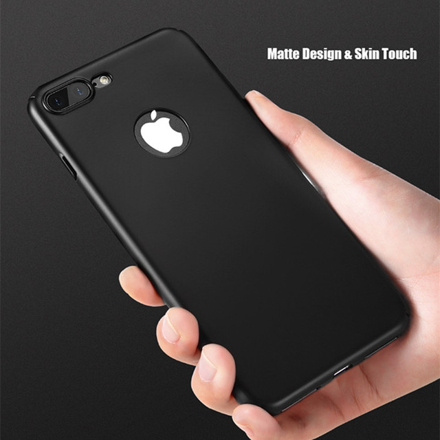 finest selection ca973 965db US $1.89 5% OFF|Silk Skin Hard PC Phone Cases For iPhone 7 Case iPhone 8 7  6 6s Plus Ultra Thin Luxury Phone Case For iPhone X XS Max XR 5 5S SE-in ...