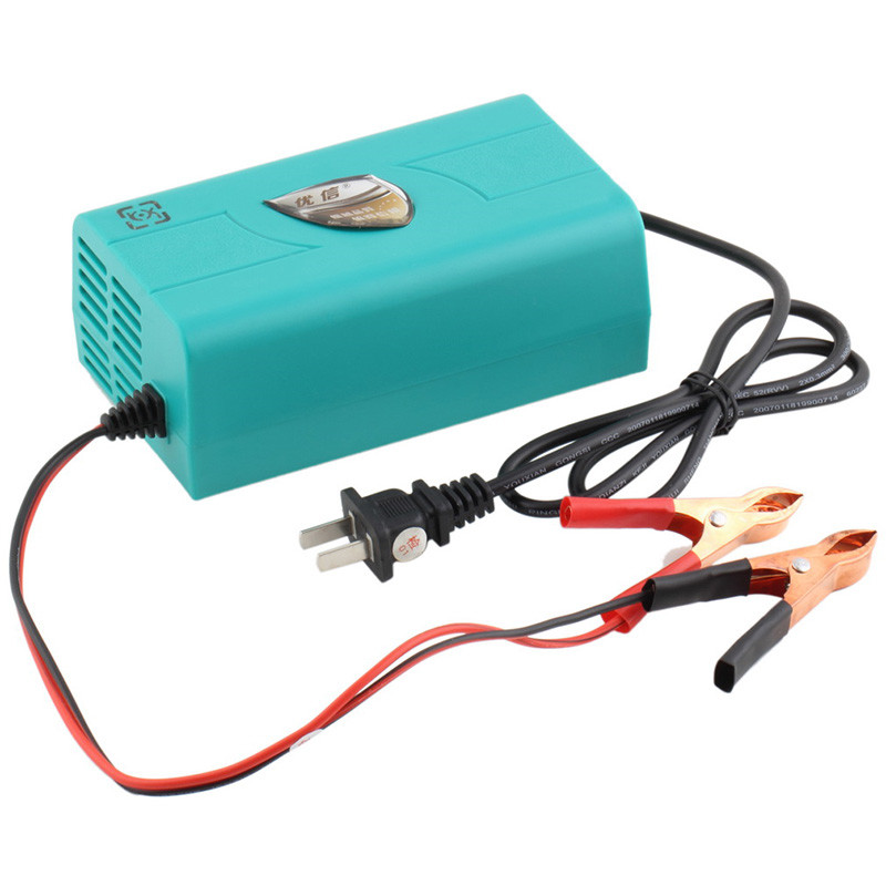 Fully Automatic Adapter Power Supply 12V 6A Motorcycle Car Auto Battery Boat Marine Charger Intelligent Charging Machine