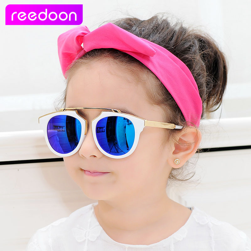 4f1b5dfb62 reedoon Vintage Kids Sunglasses Brand Sun glasses Children Glasses Cute  Designer Fashion Oculos De Sol Infantil Hipster 85207-in Sunglasses from  Mother ...