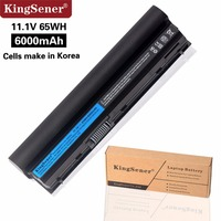 KingSener 11.1V 6000mAh New RFJMW Laptop Battery For DELL Latitude E6320 E6330 E6220 E6230 E6120 FRR0G KJ321 K4CP5 J79X4 7FF1K