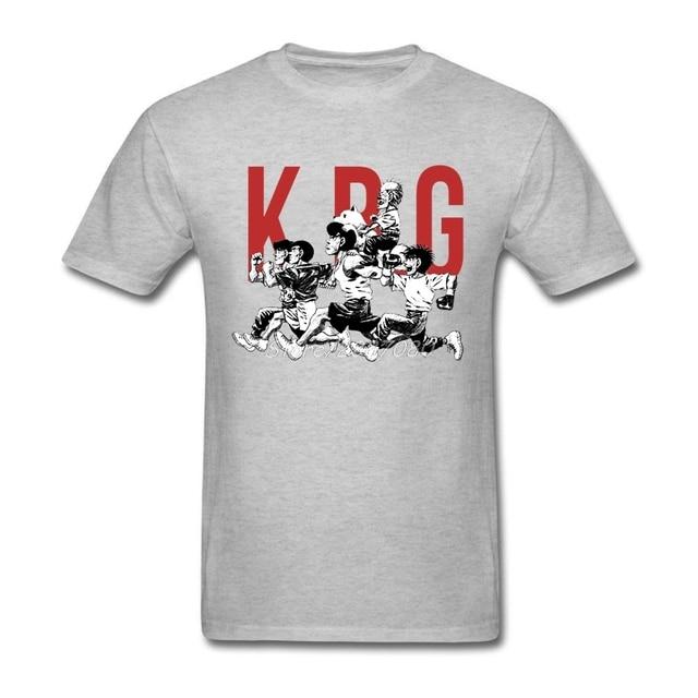 34a3135ecfc9 Hajime No Ippo K.B.G t-shirt à manches courtes marque-vêtements nouveau en  ligne