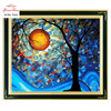 Needlework DIY DMC Cross Stitch Sets For Embroidery Kits Precise Printed Tree Of Dream Patterns Counted
