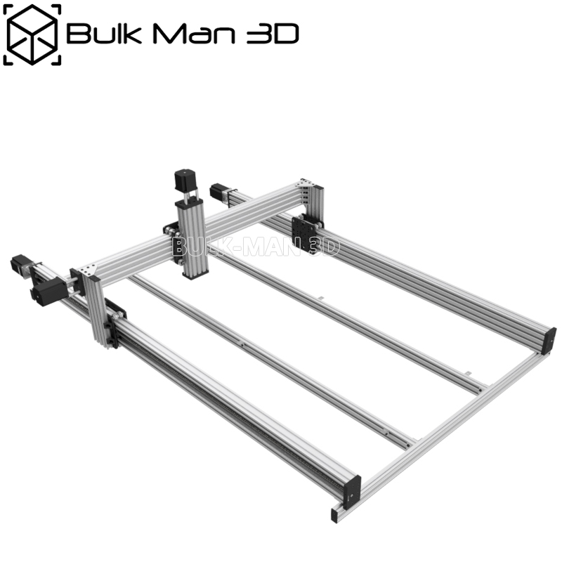 40 x 40 inch 4 Axis Lead CNC Machine Mechanical Kit Professional Wood Router Set with