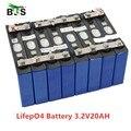 8 stücke lifepo4 3,2 v 20ah 200A hohe entladestrom 20ah 3,2 v lifepo4 batterie zelle für electrice bike motor batterie pack diy