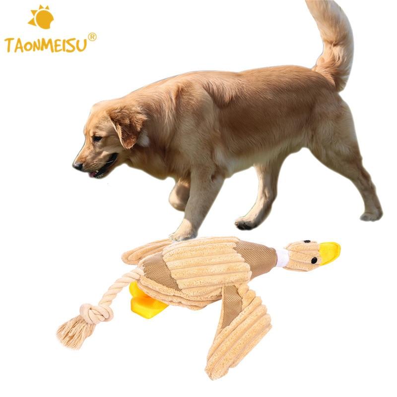 Pet Puppy Dog Chew Sound Squeaky Plush Sound Duck Toys ...